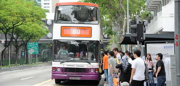 Toddler hit by a bus along Serangoon Road. (File Photo)