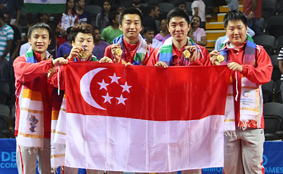 Singapore Table Tennis wins...